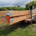 The overall dimension of the upweller is 20-ft x 14-ft.