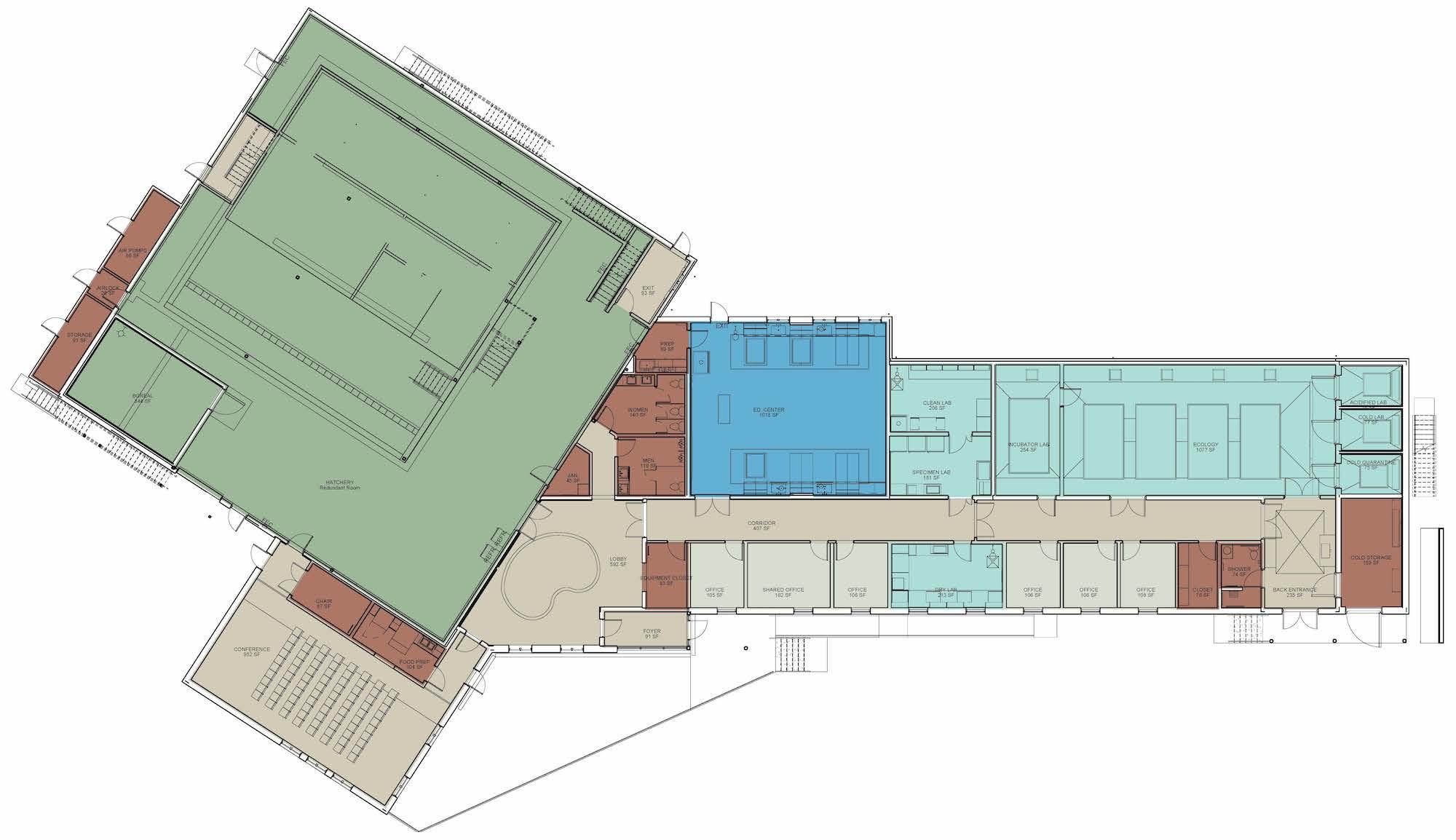 DEI Floor plan