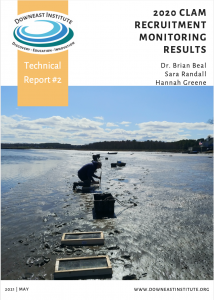 2020 Clam Recruitment Monitoring Results